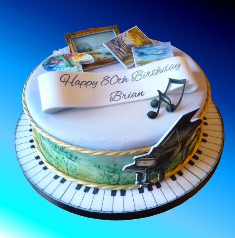 Birthday Cakes For Michael Horses
