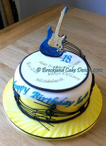 Guitar Cake Uk